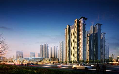 项目立于繁华最高处,俯瞰城市全景,坐拥如皋雨润广场76万平米繁华商业